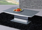 unique modern grey gloss coffee table furniture