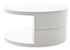 white gloss coffee table with storage for small living room