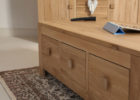 wood oak furniture land coffee tables with storage