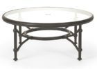 30 inch round coffee table glass top
