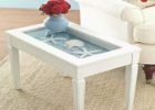 awesome white beach themed coffee table decor