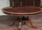awesome 60 inch round pedestal dining table with leaf