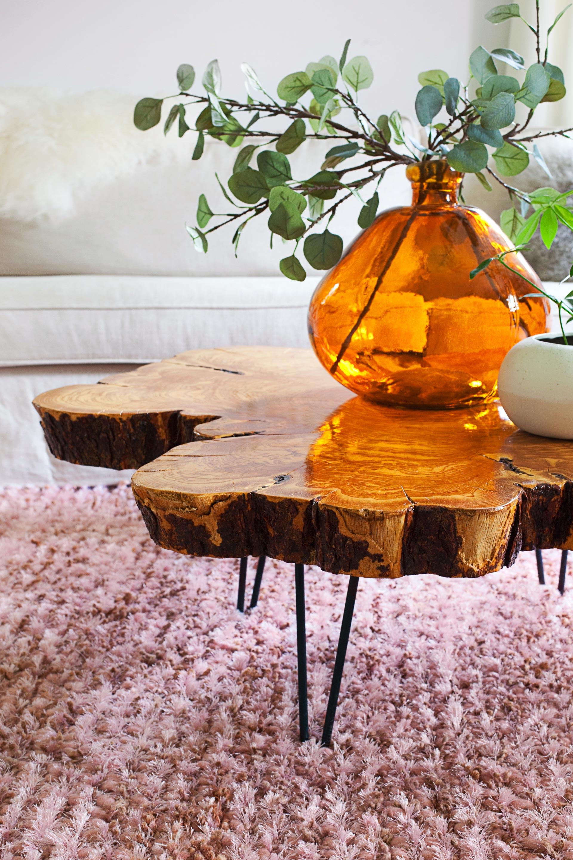 awesome cdi earth raw edge coffee table