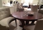 awesome curved bench for round dining table