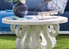 awesome octopus coffee table white