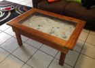 beach themed coffee table decor ideas