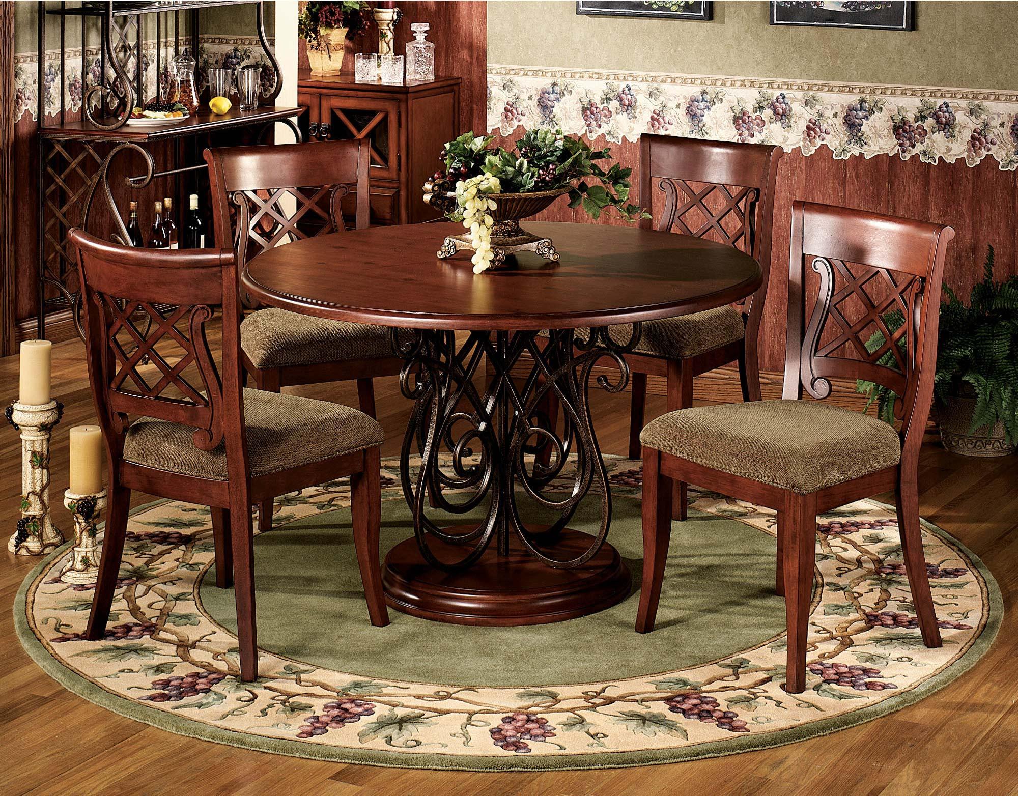 Area Rug Under Dining Table Ideas