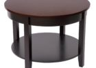 best black 30 inch round coffee table