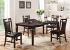 best black butterfly leaf dining table set