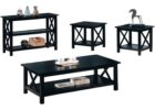best black coffee and end table sets