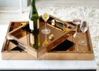 best gold coffee table tray sale
