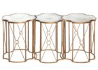 best gold quatrefoil coffee table sets