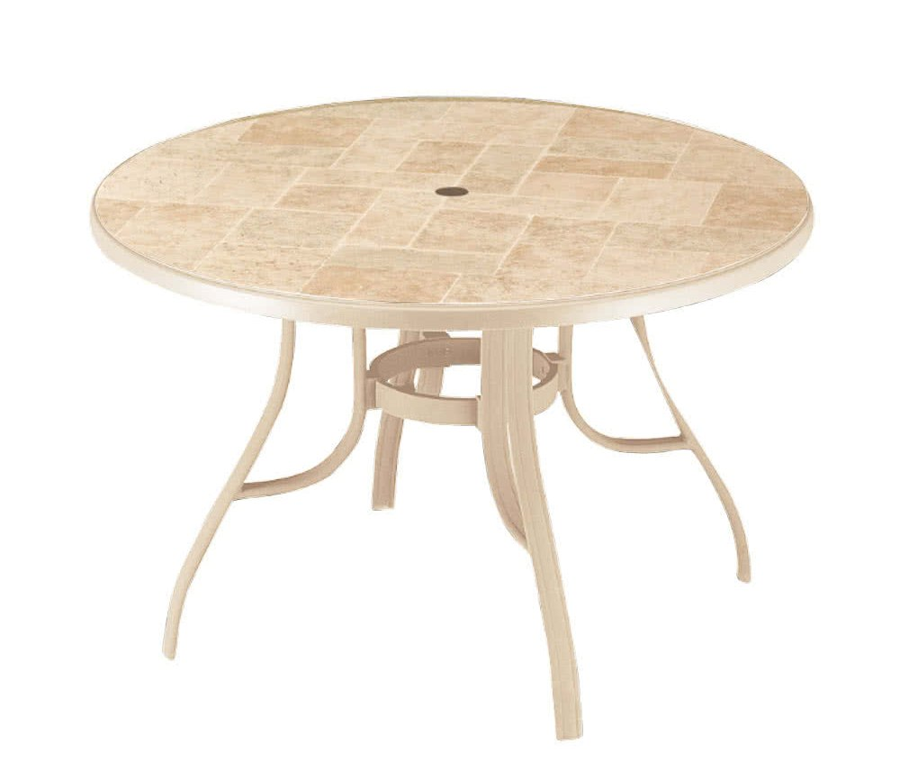 outdoor coffee table with umbrella hole furniture