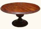 best wood 60 inch round pedestal dining table furniture