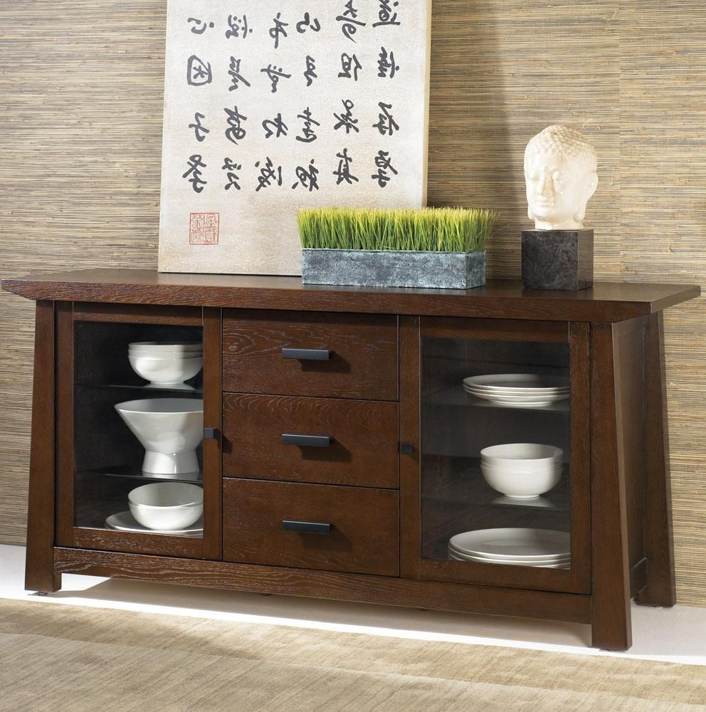 best wood buffet tables for dining room