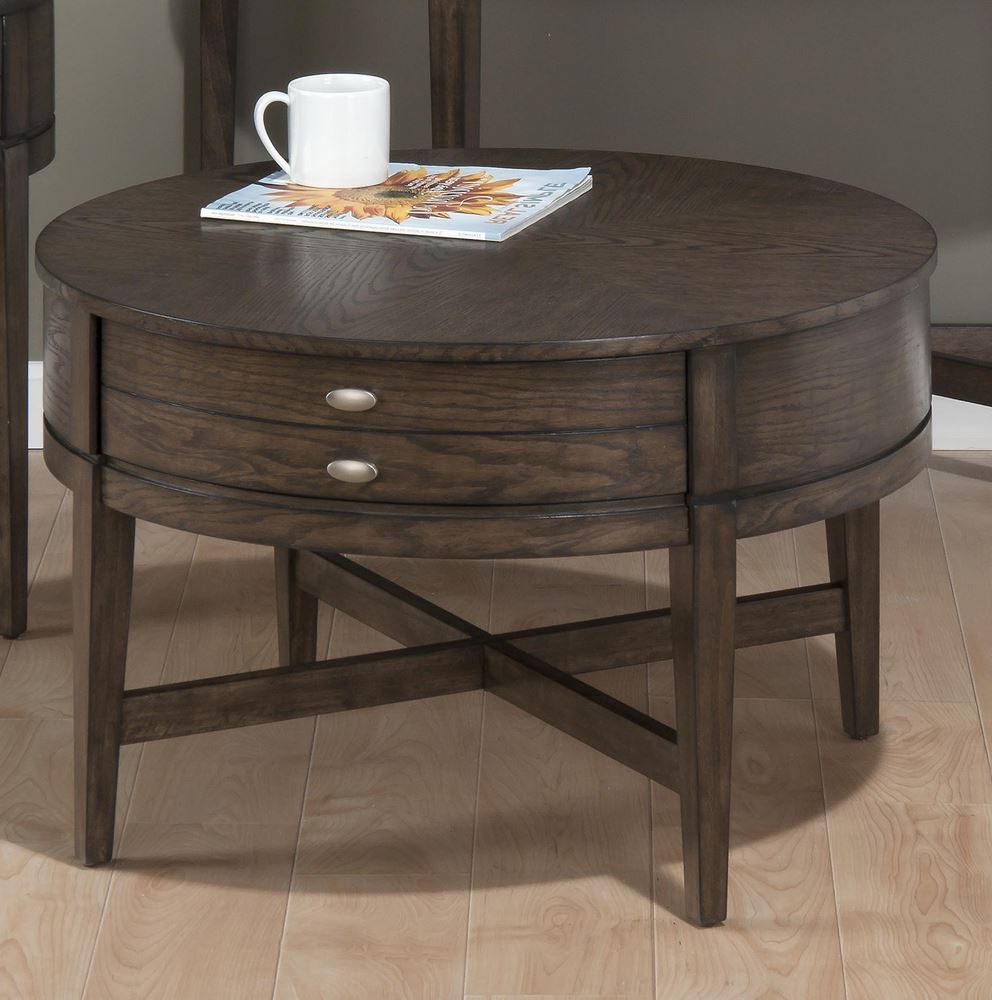 black 30 inch round coffee table with storage