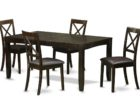 black butterfly leaf dining table set canada