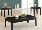 black coffee and end table sets cheap