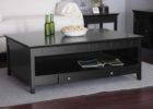 black coffee and end table sets with drawers