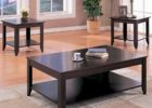 black coffee and end table sets wood