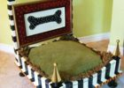 black diy coffee table dog bed