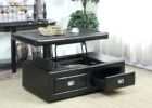 black lift top coffee tables with storage drawers