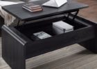 black lift top coffee tables with storage uk