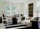 black white beach themed coffee table decor