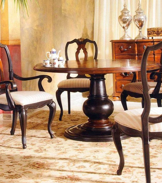 cheap 60 inch round pedestal dining table