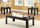 cheap black coffee and end table sets