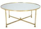 cheap gold coffee table tray mirrored