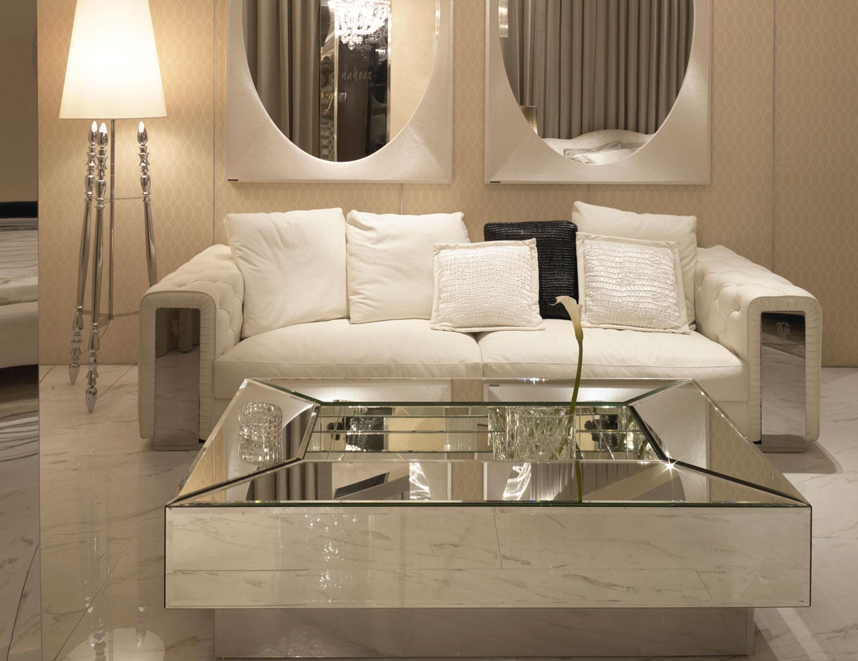 cheap mirrored coffee table furniture ideas