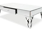 cheap mirrored coffee table modern rectangle ideas