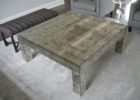 cheap mirrored coffee table modern square