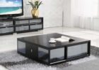 cheap mirrored coffee table set