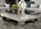 cheap mirrored coffee table small