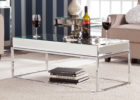 cheap mirrored coffee table with storage ideas