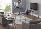 cheap modern tv stand and coffee table set