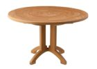 cheap round outdoor coffee table with umbrella hole