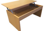 cheap wood coffee tables that lift up