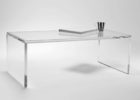 clear square acrylic coffee table furniture