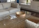 clear square acrylic coffee table ideas