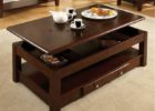 coffee tables that lift up lid