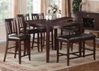 counter height butterfly leaf dining table set canada