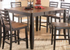 counter height butterfly leaf dining table set plans