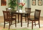 counter height butterfly leaf dining table set plans ideas