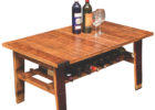 crate diy wooden barrel coffee table plans