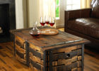 crate wooden barrel coffee table plans