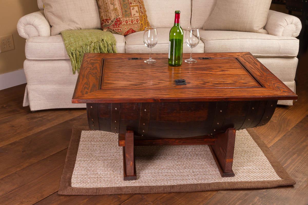 100 oak whiskey barrel coffee table high resolution barrel100 oak crate wooden barrel coffee table uk raysa house geotapseo Choice Image