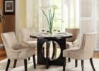 curved settee for round dining table furniture set
